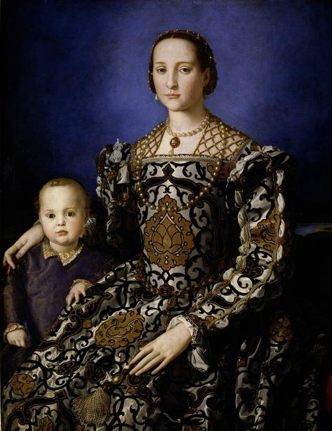 Eleonora Medici Bronzino Uffizi