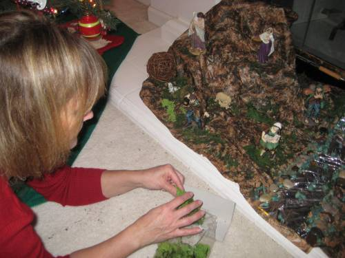 presepe-building-with-our-italian-afs-exchange-student-francesca width=